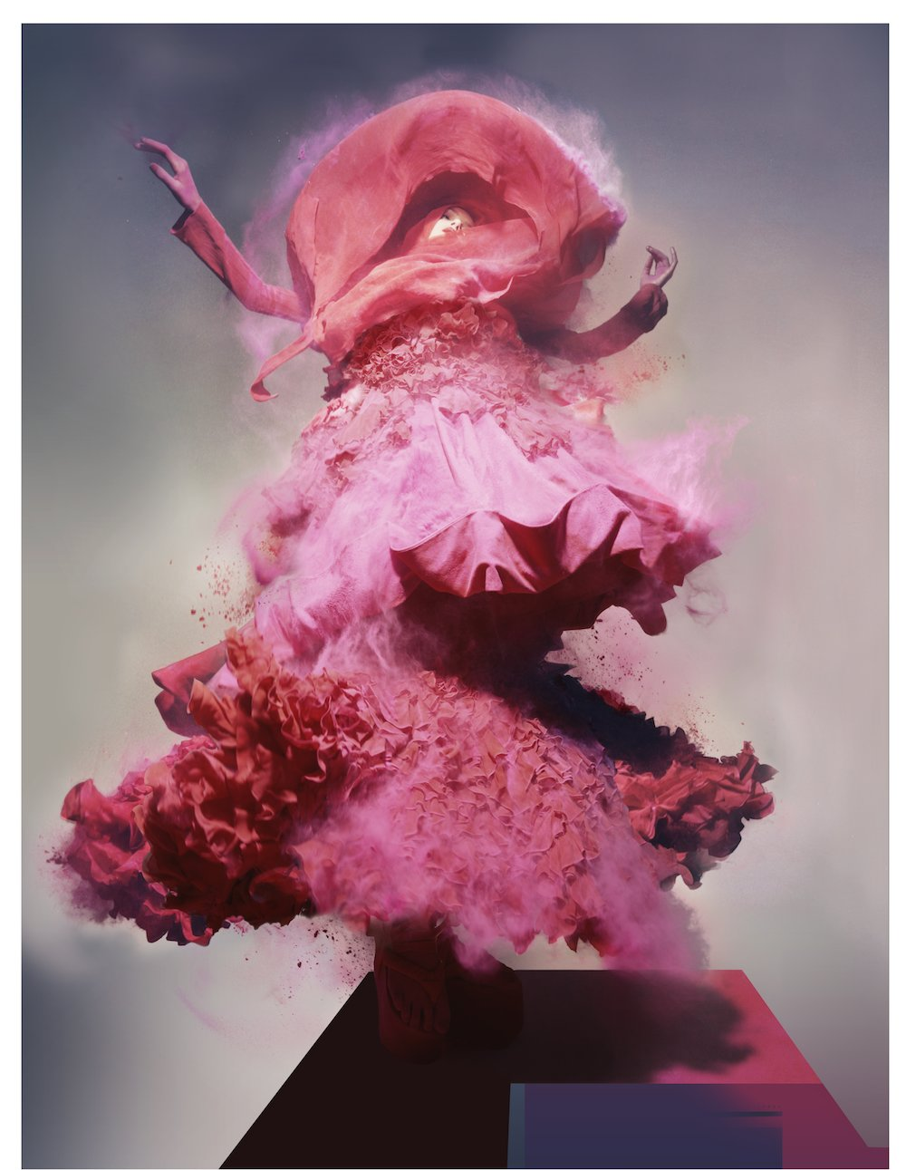 Nick Knight (*1958, Great Britain) Lily, 2008. © Nick Knight / Courtesy of Christophe Guye Galerie
