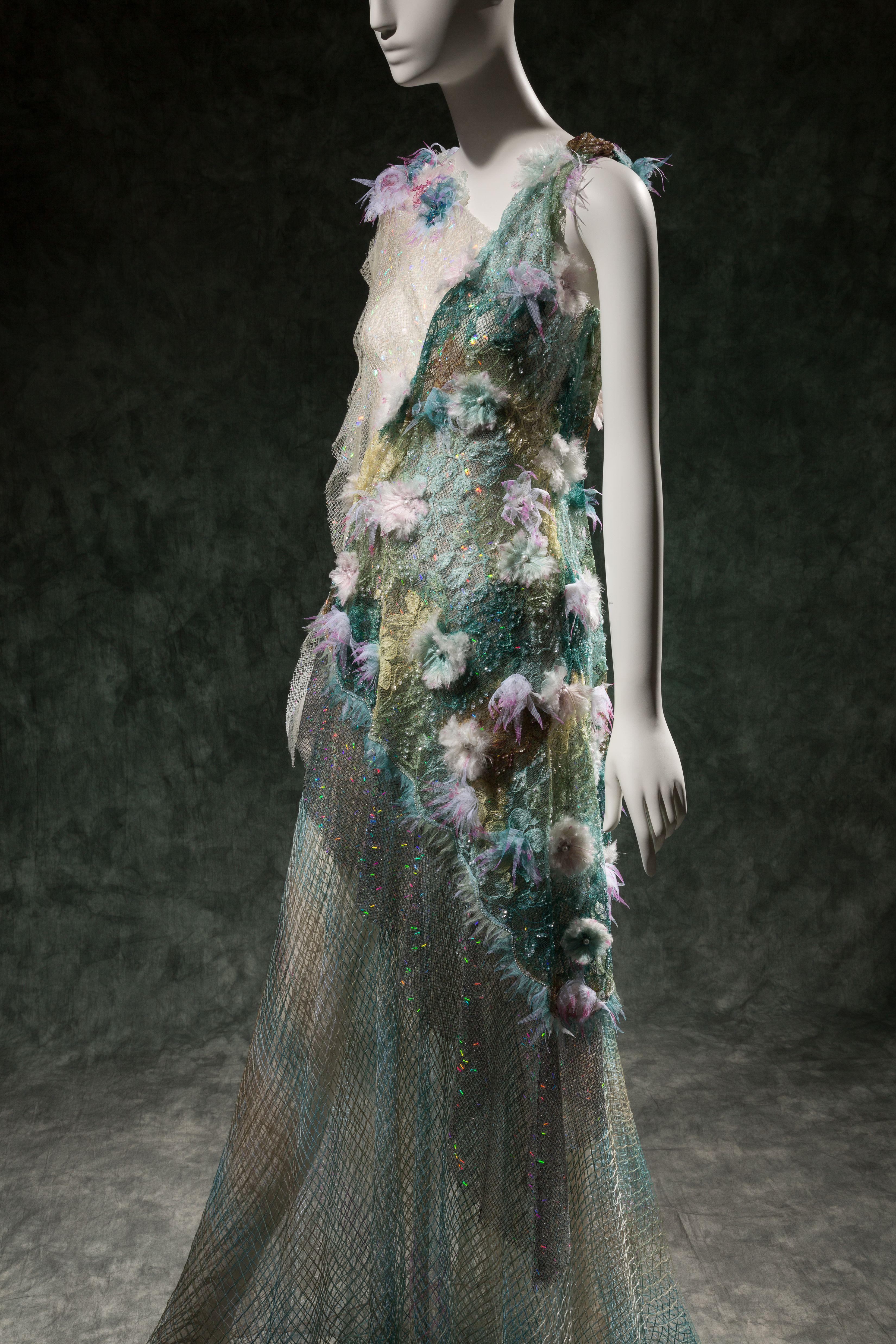 "Rodarte, dress, spring 2015, USA. The Museum at FIT, 2015.35.1, photograph © The Museum at FIT (illustrating ""The Little Mermaid"")"