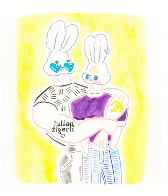 Julian Zigerli Follow the White Rabbit