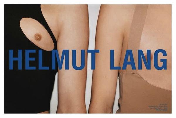 Juergen Teller's campaign for Helmut Lang Spring Summer 2004