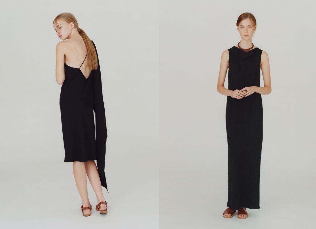 Zwei der fünf Kleider aus der A.P.C. Capsule Collection