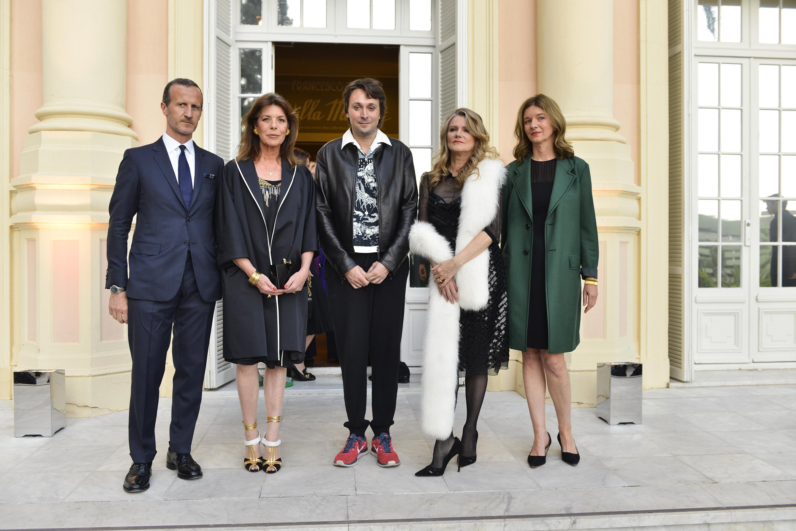 Stefano Cantino, Caroline of Hanover, Francesco Vezzoli, Barbara Sukowa, Astrid Welter