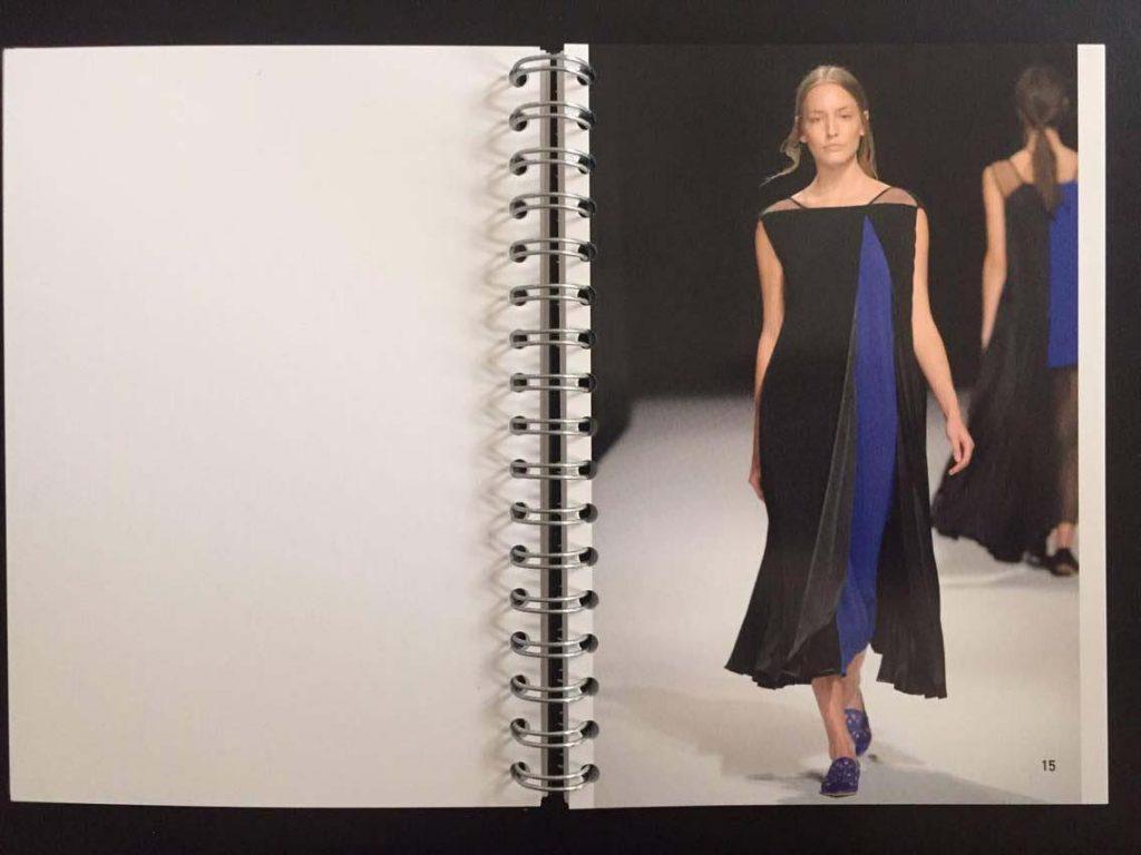 """Ein Foto des Talbot Runhof Frühjahr-Sommer-2016-Lookbooks. Marken lassen Bilder sprechen um sich zu positionieren. Gerade arbeiten die Talbot-Runhofs an einem """"Revamp"""" – wie wird der neue visuelle Look aussehen?"""