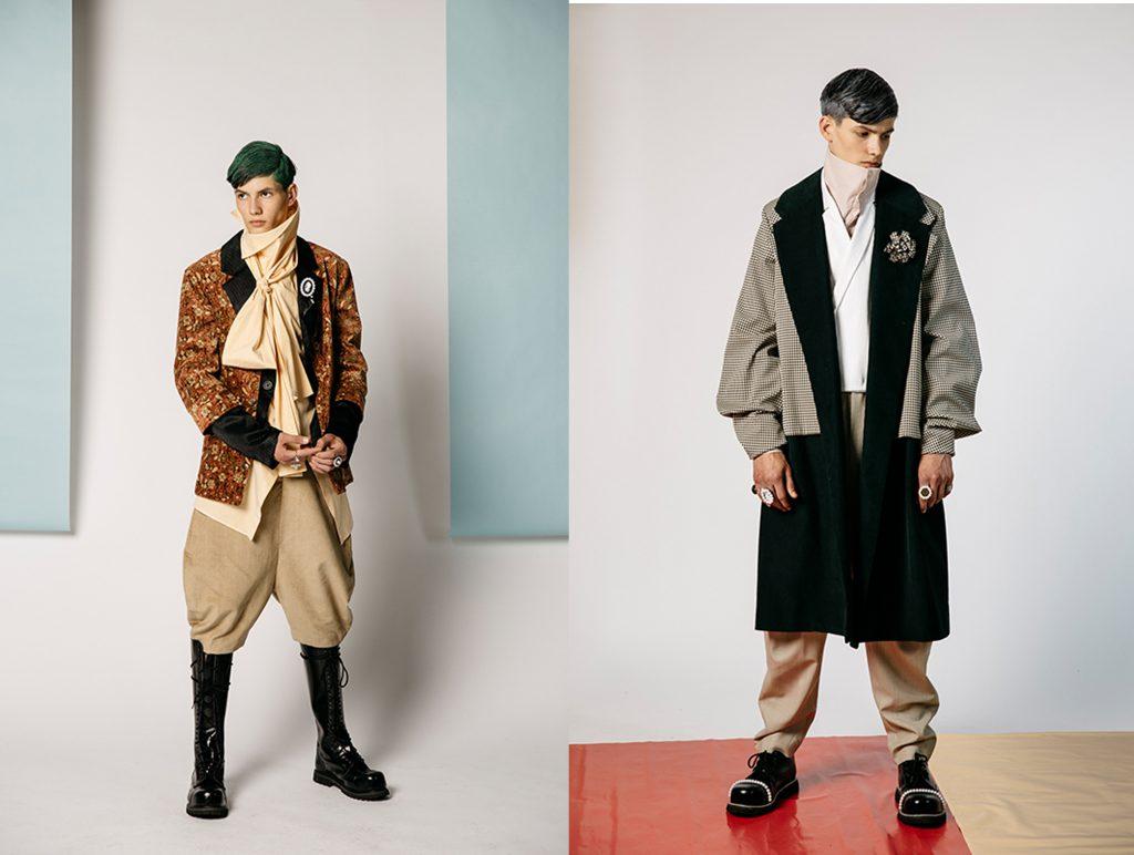 Keines Entwürfe sind von einer Ausstellung über viktorianische Mode inspiriert