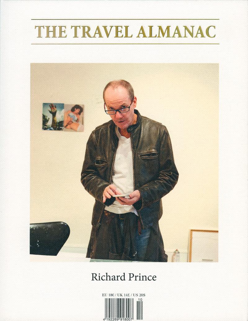 Richard Prince fotografiert von Juergen Teller für die 10te Ausgabe von The Travel Almanac