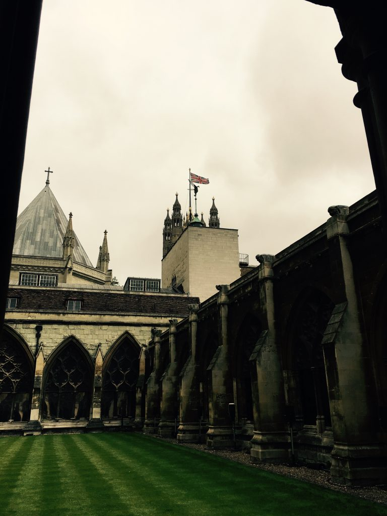 Westminster Abbey has never seen a fashion show before