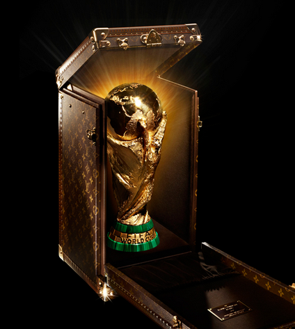 The Louis Vuitton trophy case