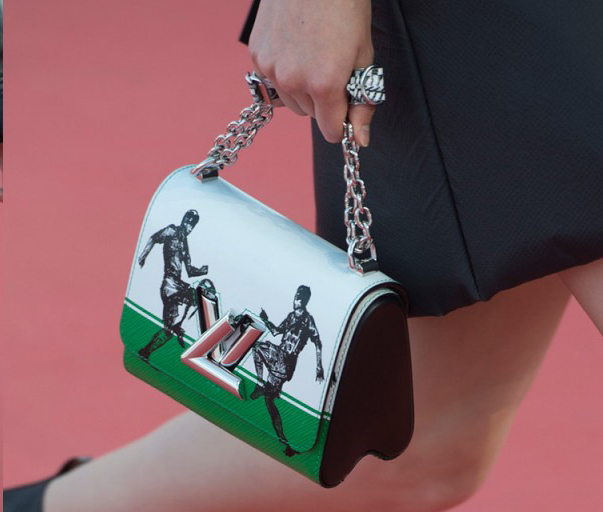 Football meets fashion in those beautiful Louis Vuitton Cruise Collection bags