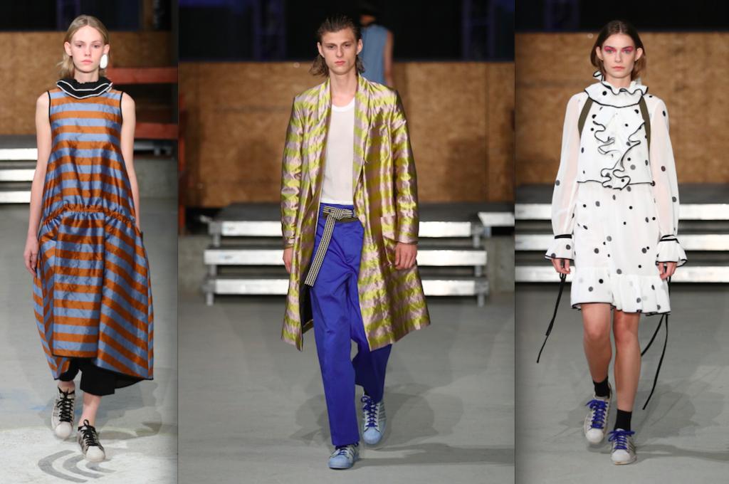Happy Fashion bei Odeeh: Spontan sind auch ein paar Männerlooks dabei