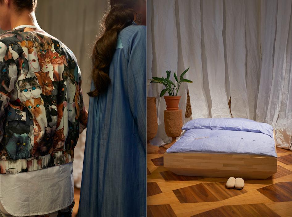 Alles für den Hangover-Tag: William Fan präsentiert erstmals auch auch eine Interior-Kollektion