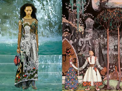 """Legends and Fairy Tales"" Karl Lagerfeld"