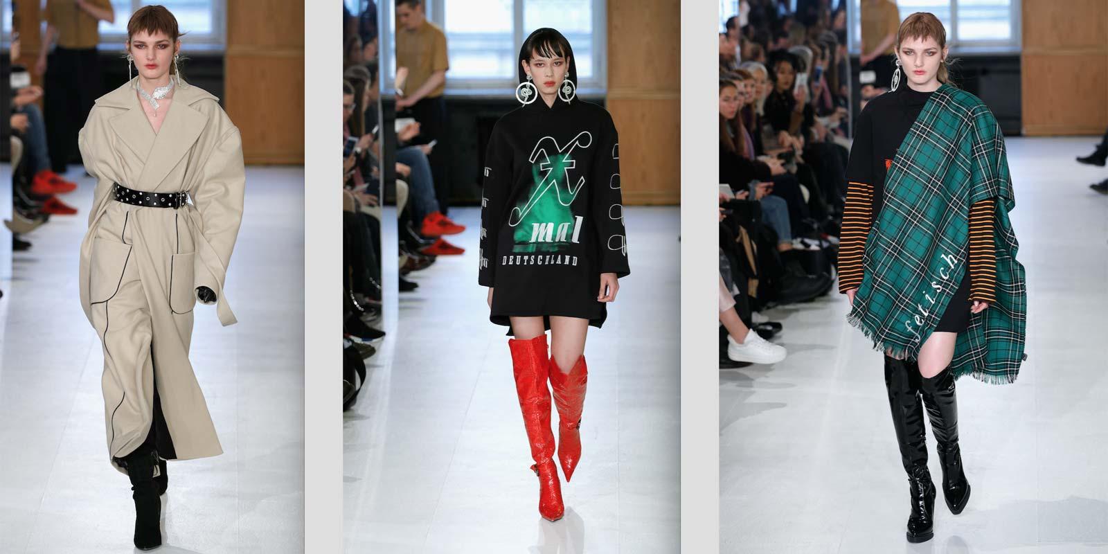 Xmal Deutschland Berlin Fashion Week