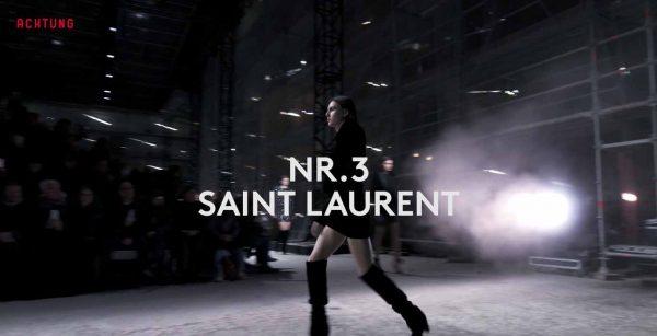 Top Ten Collections Saint Laurent