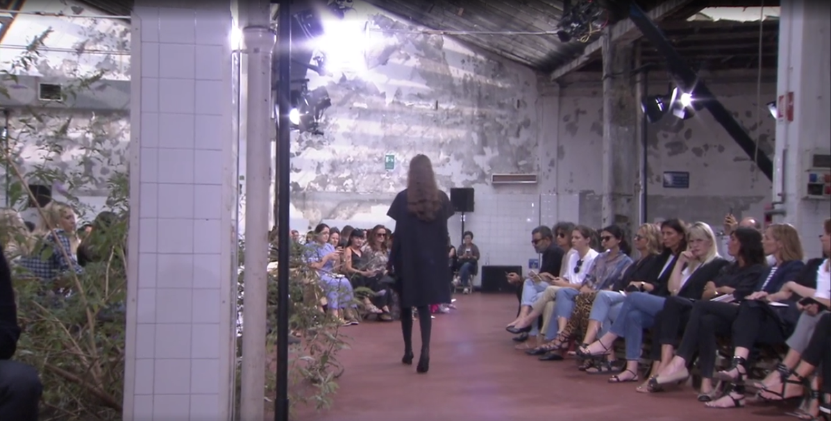 The set from JIL SANDER SS19 show.