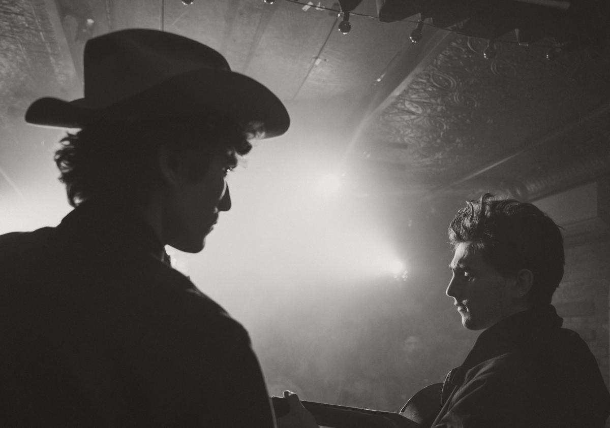 Levis Vintage cowboys black white photography