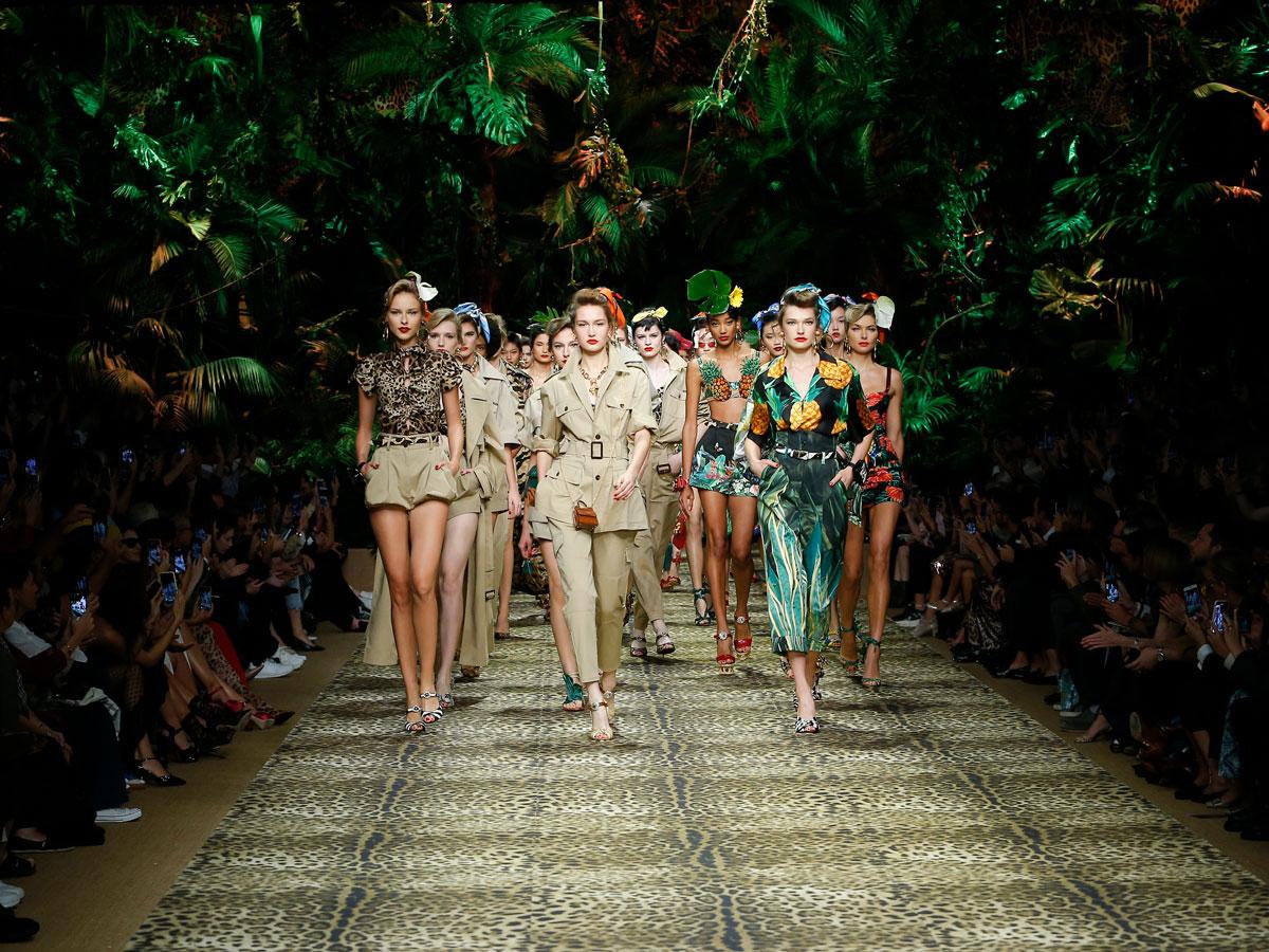 Milan Fashion Week Dolce & Gabbana SS 20