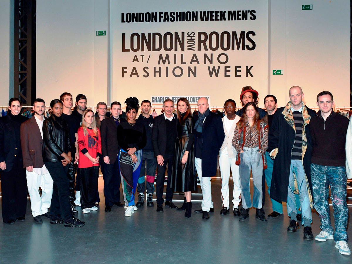 The designers at the London Show Rooms in Milan