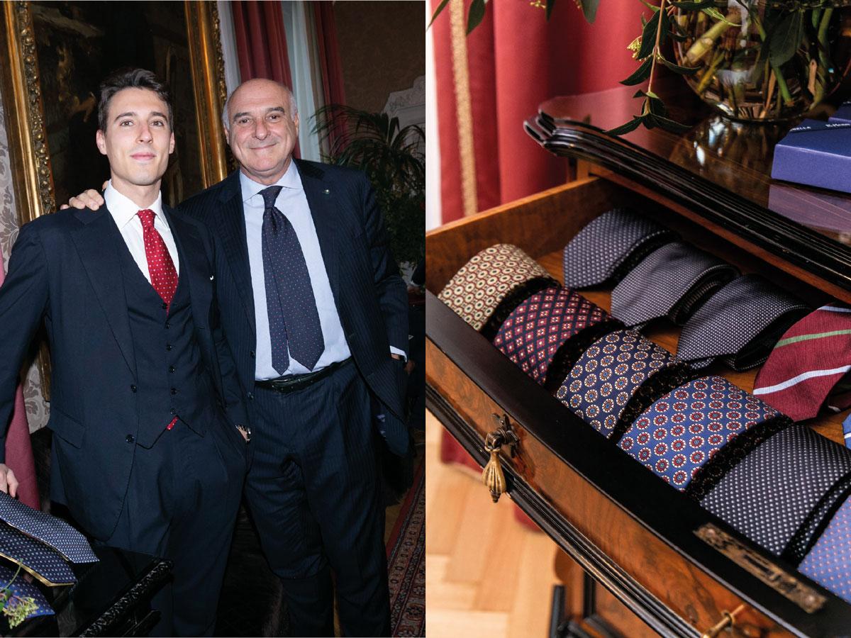 Milan men fw 2020 fashion week marinella Father son Maurizio Alessandro Marinella