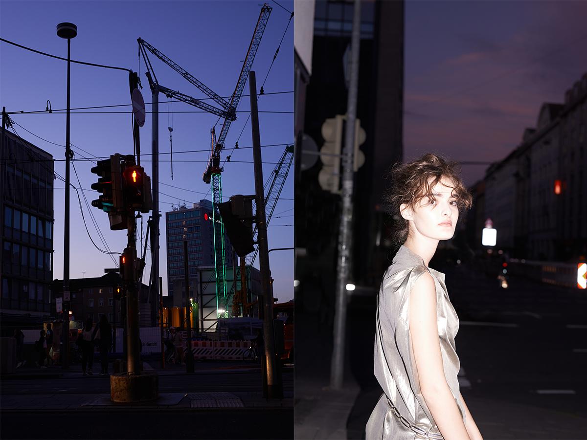 traffic light model vintage