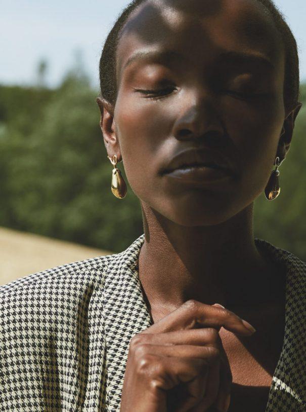 Ernte sei dank model blazer earring