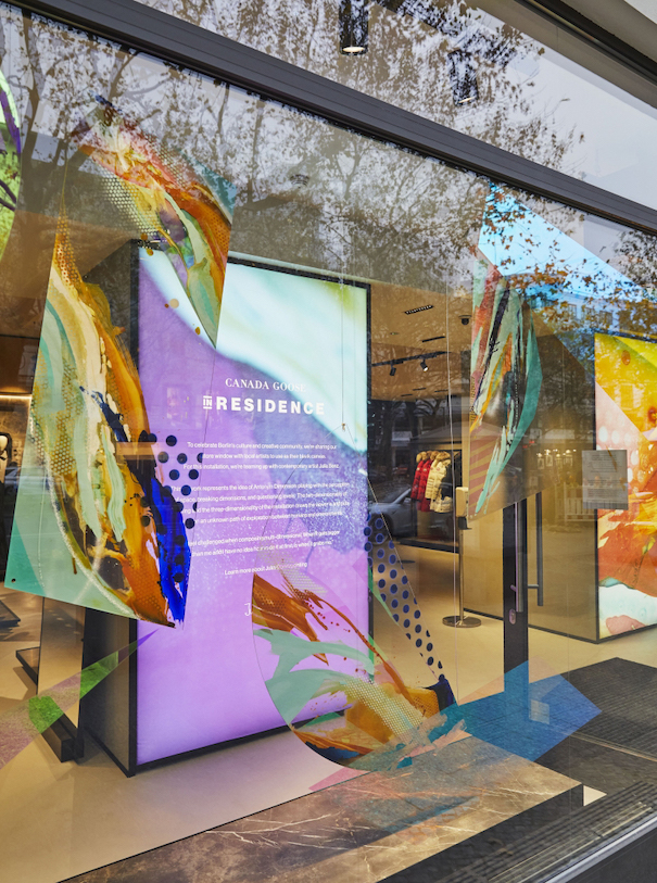 Canada Goose store berlin kurfürstendamm window