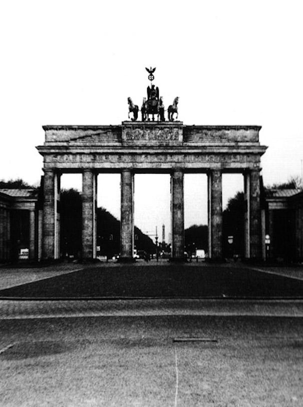Brandenburger Tor in Berlin während Lockdown fotografiert von Gregor Hohenberg