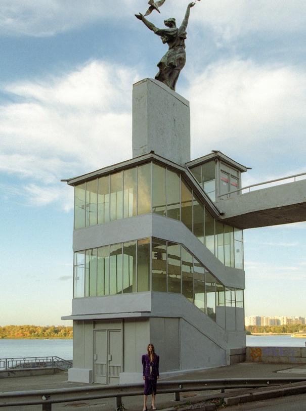 Architektur Statue Gebäude Model