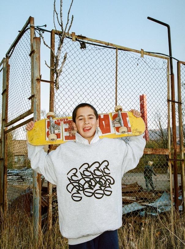 Skateboard Guy Teen Tiflis Georgia Streetstyle