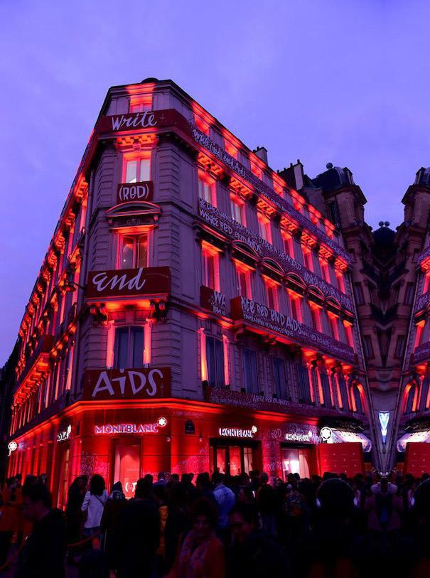 RED MOntblanc Event in Paris