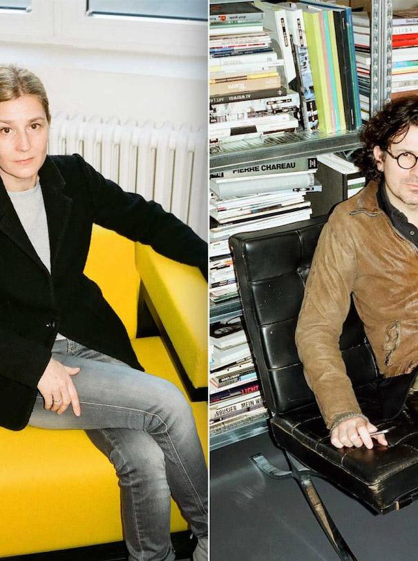 Gonzalez Haas Architecture Yellow Chair black chair Balenciaga