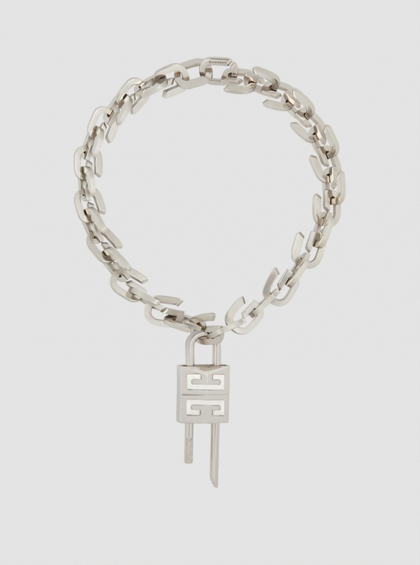 Givenchy gold chain lock