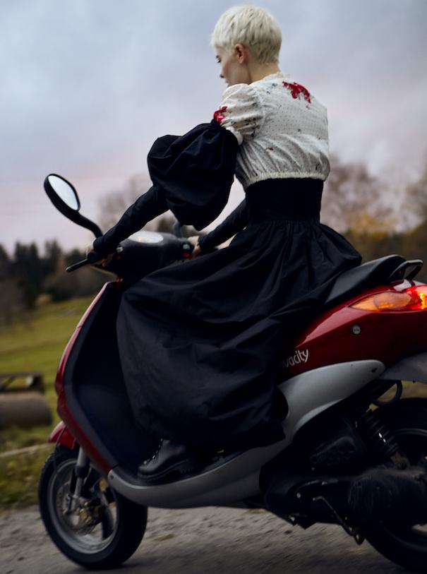 Closer Fashion Folklore Close-up