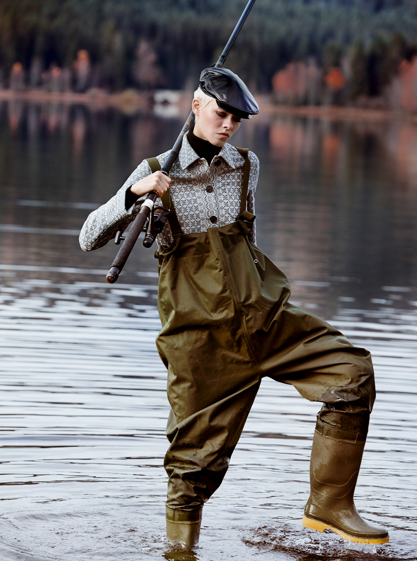 fishing in the black forest Der Schatz des Schluchsees Maike Inga in Dior