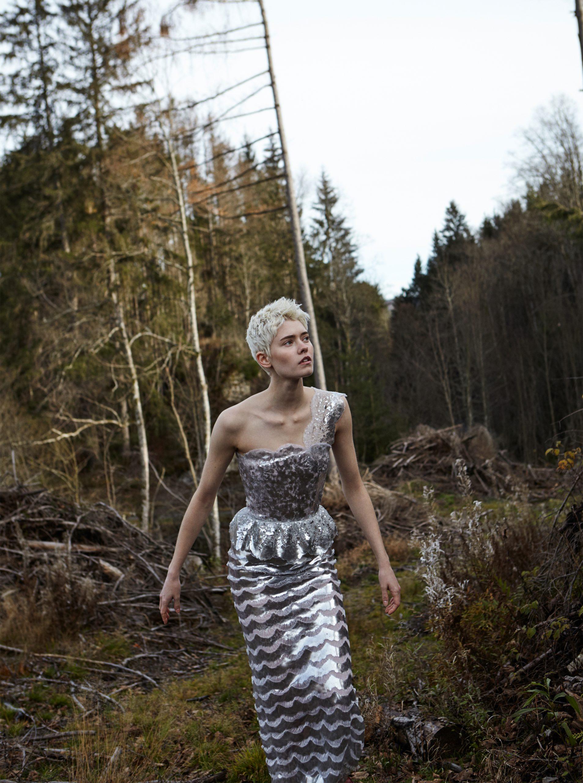 Chanel Virgine Viard Haute Couture Maike Inga im Schwarzwald