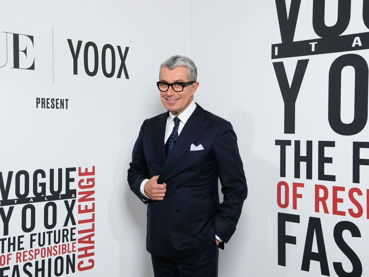 Max Mara WW Communications and PR President Giorgio Guidotti yoox vogue photo