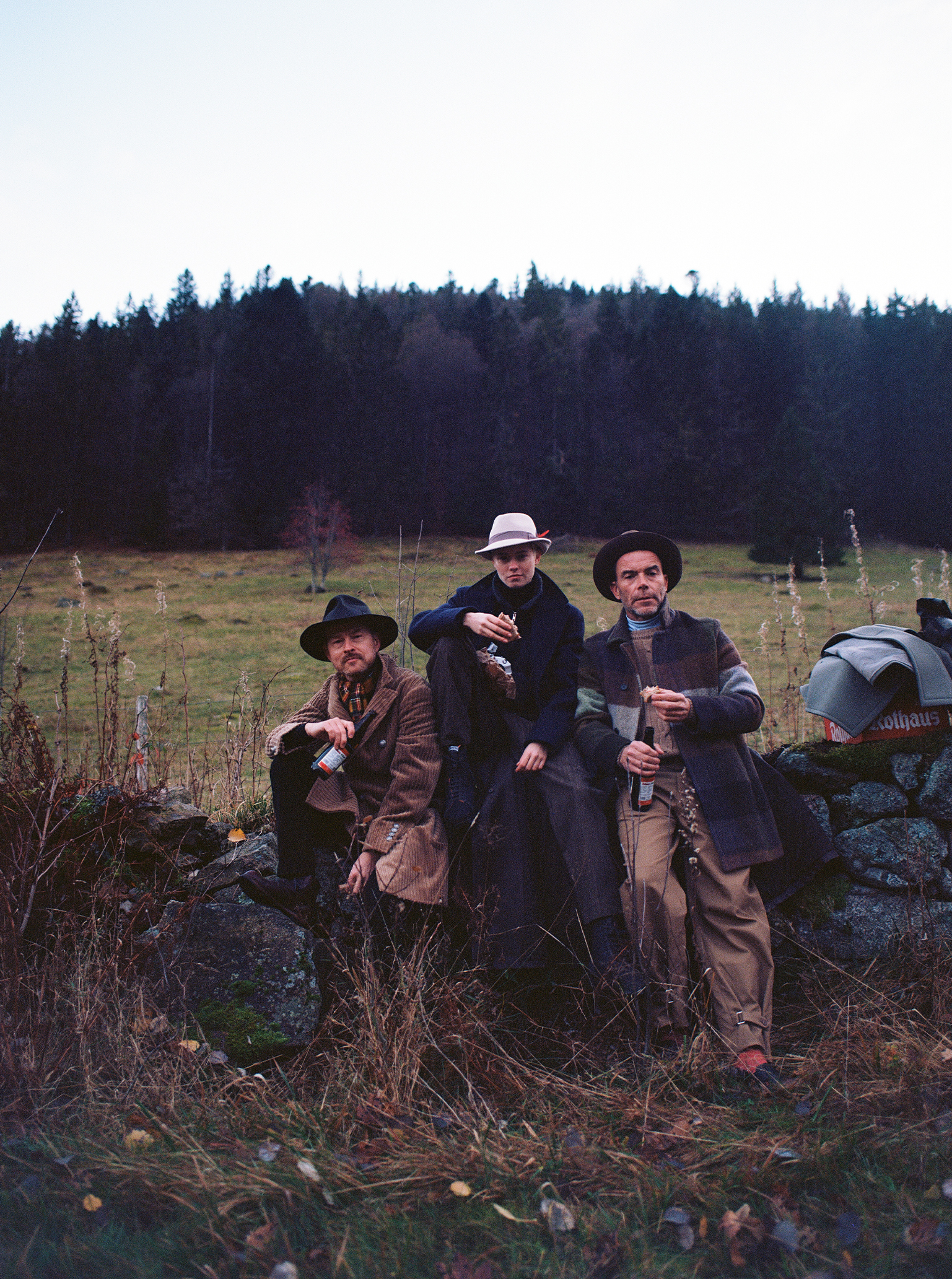Polaroid Wanderung Schwarzwald Maike Gregor Markus Brotzeit