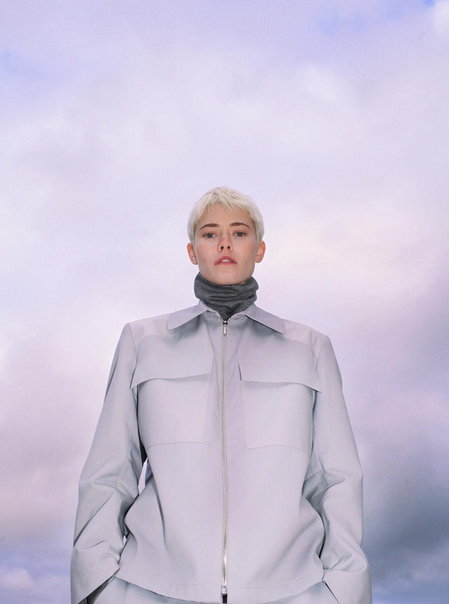 Designer Alexander Roys futuristic fashion Maike Inga