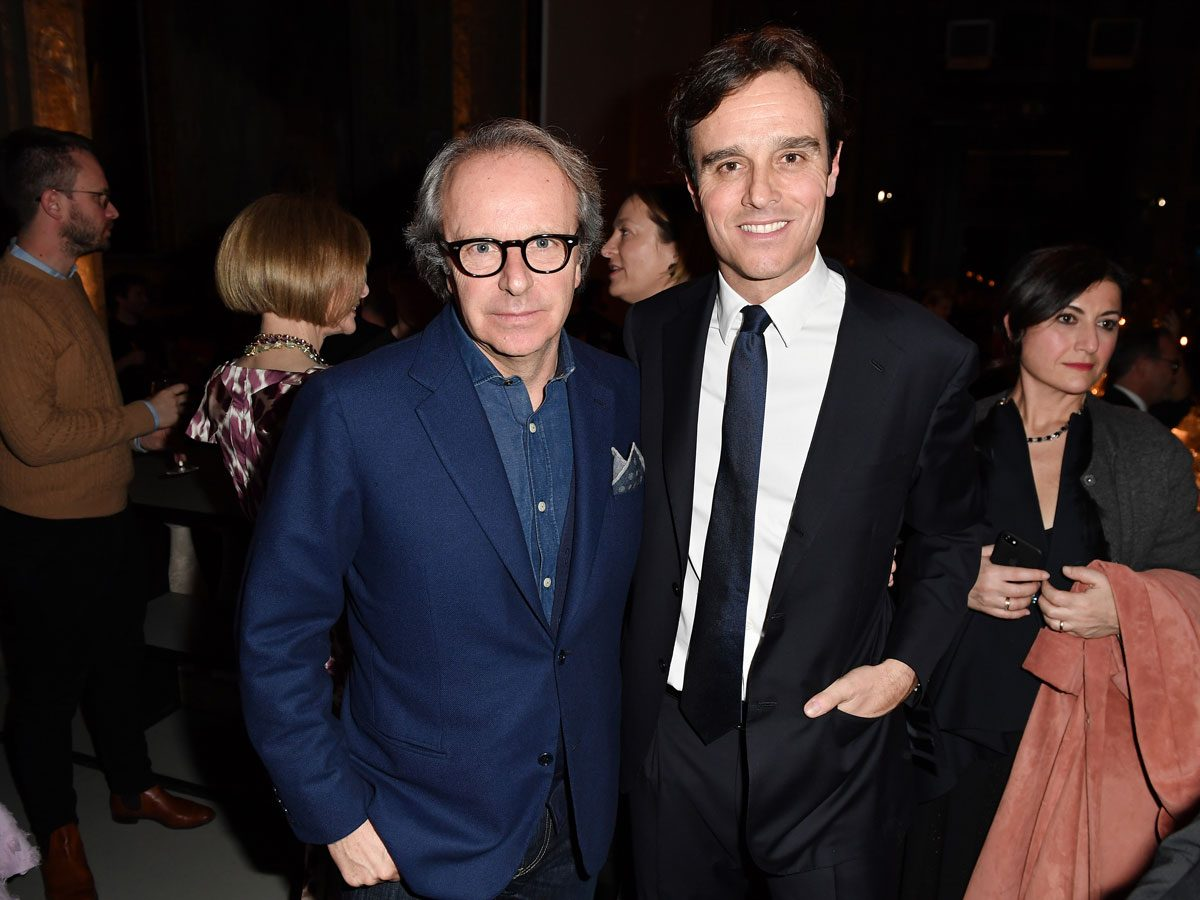 Andrea Della Valle and Emanuele Farneti photo vogue yoox