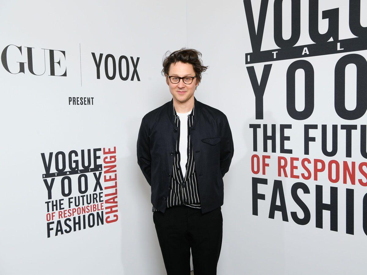 Designer Arthur Arbesser vogue yoox photo