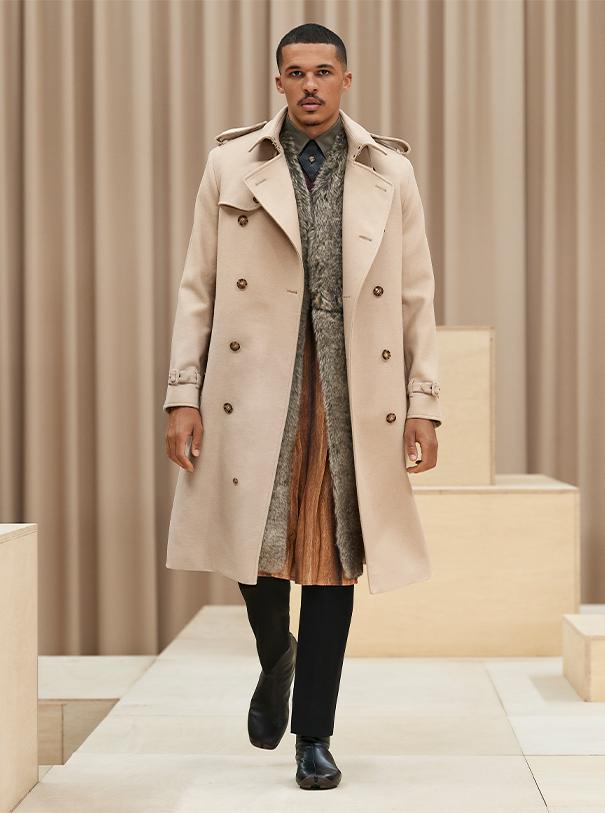 Burberry London men's fashion
