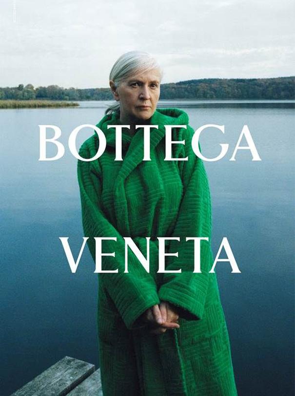 Modereklame die Zweite Bottega Veneta Salon Silke Wichert