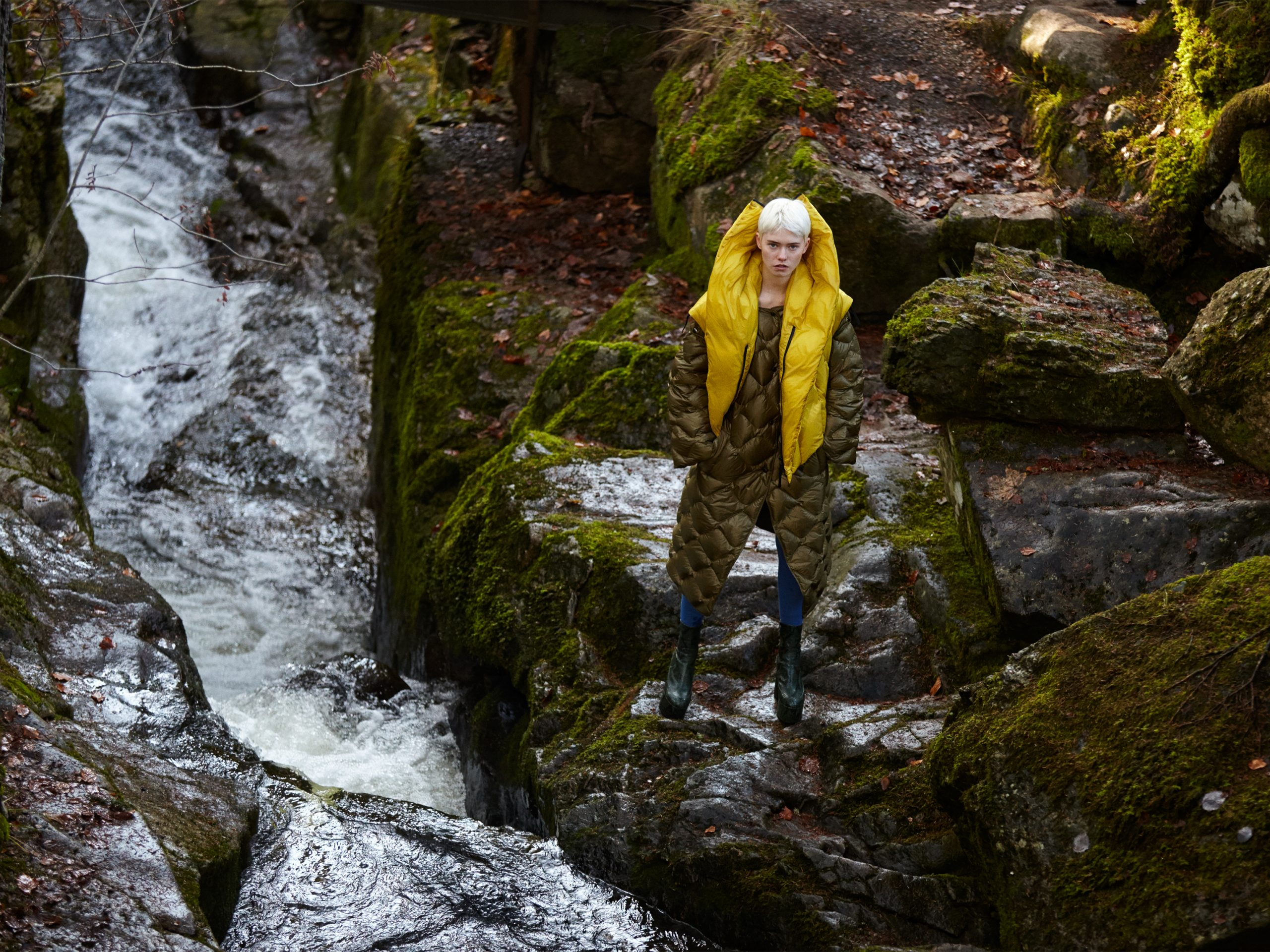 of fog and falls waterfall maike inga in issey miyake