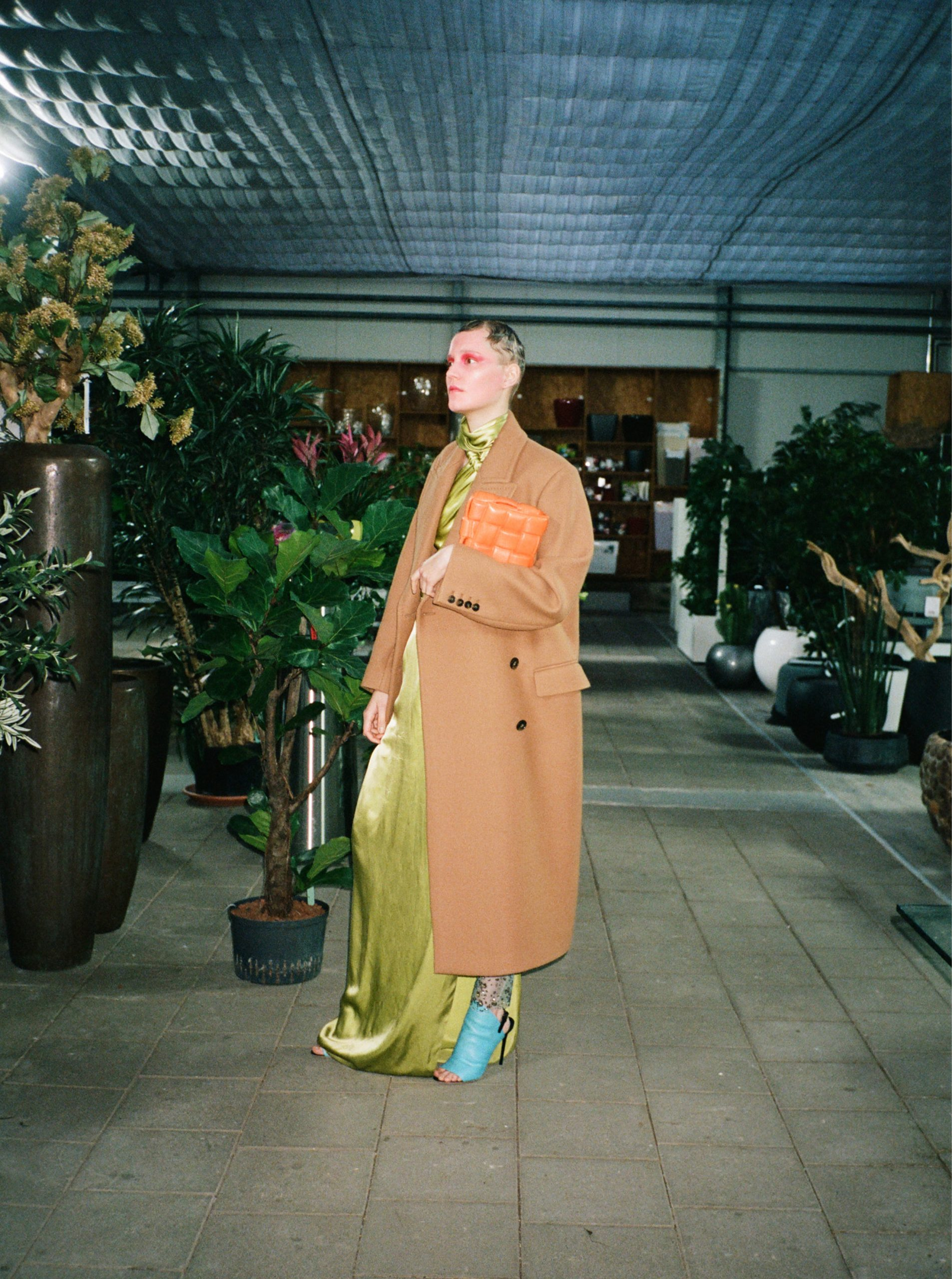 Grün grün grüne kleider lina hoss in Stella McCartney