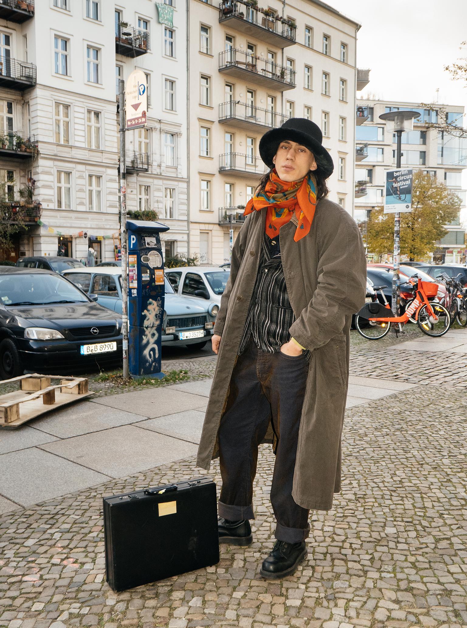going back in time Kuba Dabrowski on Zeitlos folks of Berlin