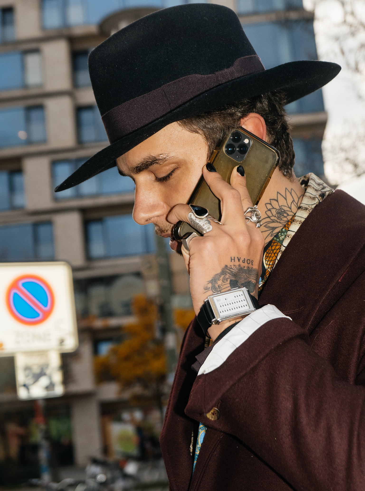 back to the good old days - Kuba Dabrowski on streetstyle in Berlin