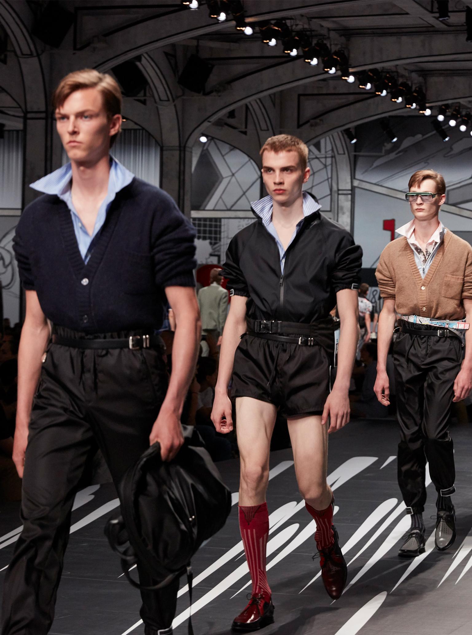 Prada Men's S/S 2018
